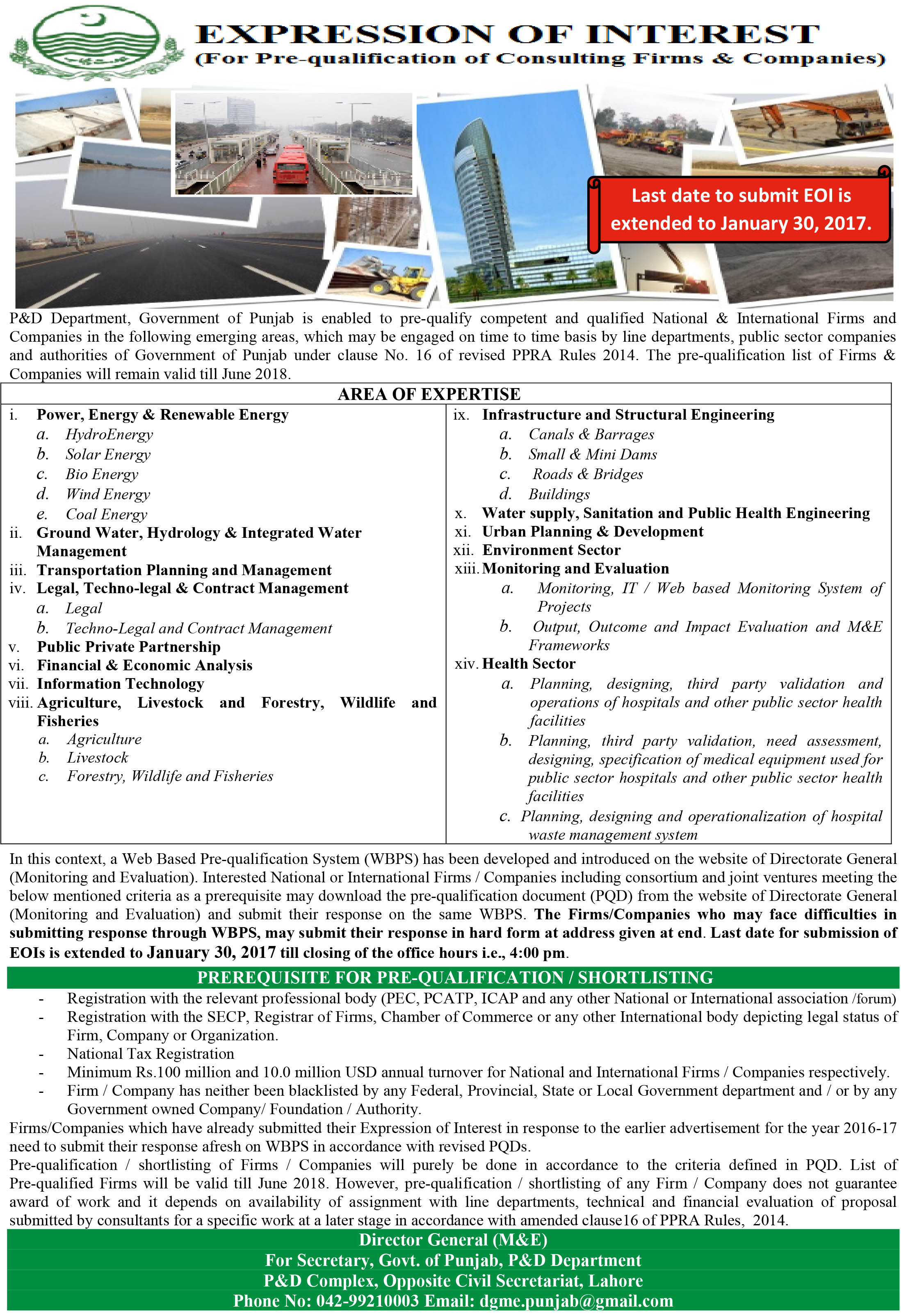 expression of interest eoi consulting firms Instruction for submission of expression of interest submission of expression of interest the consulting firms are required to submit evidences of.